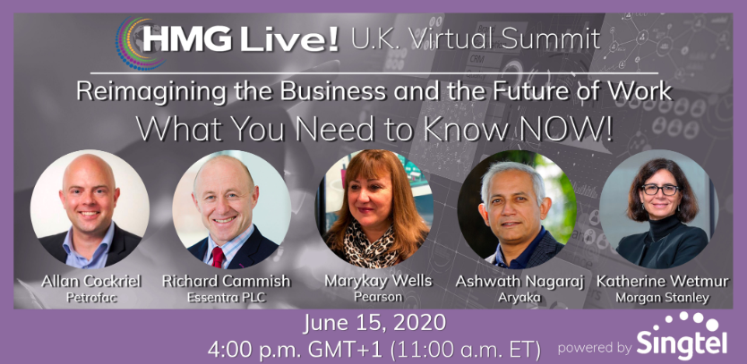 CIO Leadership: HMG Strategy Looks Ahead to UK, Charlotte and St. Louis CIO Virtual Summits After Vaulting to #1 in Virtual Events for CIOs, CTOs, CISOs and Technology Executives