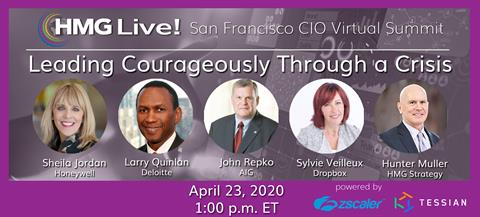 HMG Live! San Francisco CIO Virtual Summit