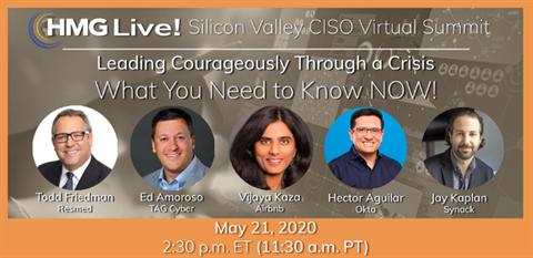 HMG Live! SV CISO Virtual Summit
