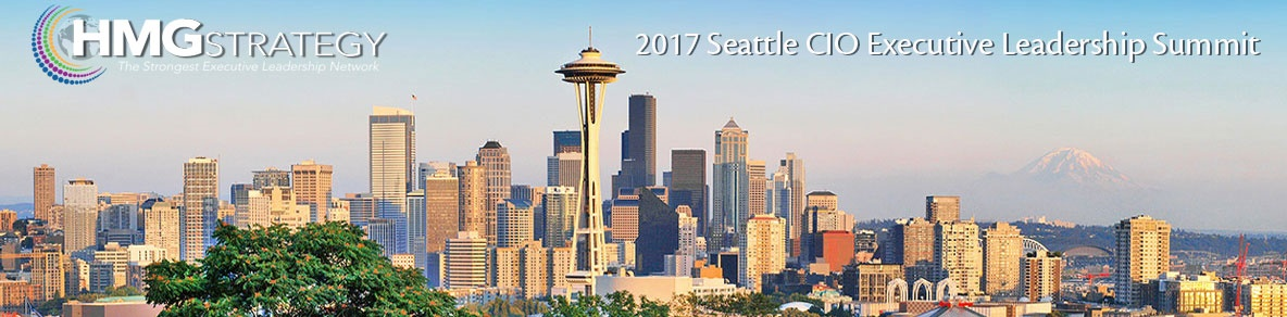HMG Strategy 2017 Seattle CIO Executive Leadership Summit