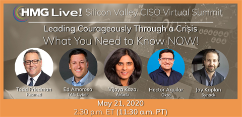 Silicon Valley CISO Virtual Summit