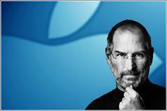 Steve Jobs with Apple